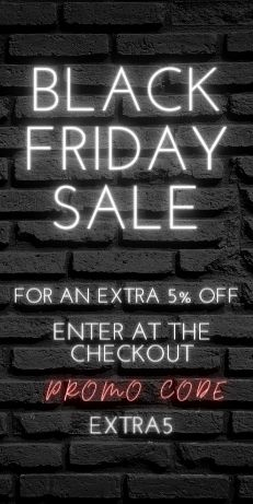 UP TO 60% OFF IN OUR BLACK FRIDAY SALE