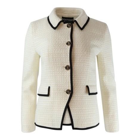 Moschino Boutique Tweed Sparkle Jacket