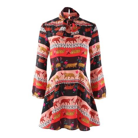 Hayley Menzies  Tigeress Mini Dress