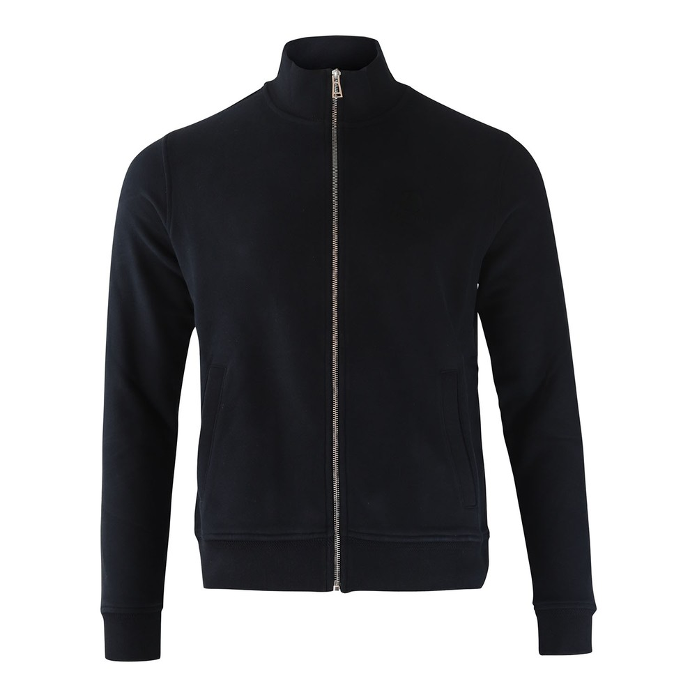 Belstaff Zip Through Sweatshirt Black