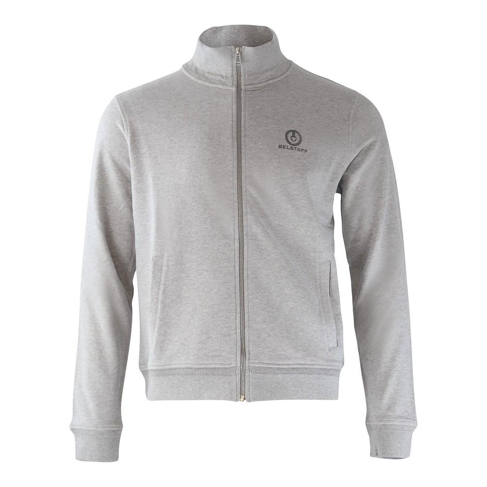 Belstaff Zip Through Sweatshirt Grey