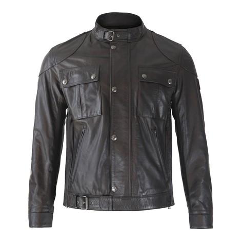 Belstaff Gangster 2.0 Leather Jacket