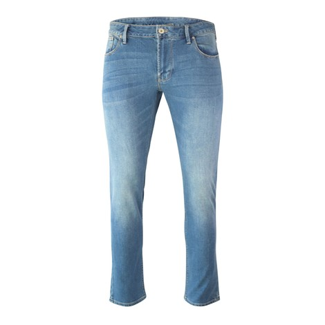 Emporio Armani Regular-Fit J15 Jeans Comfort Cotton Twill