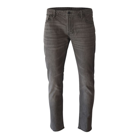 Emporio Armani J06 Slim Fit Stretch Cotton Denim Grey