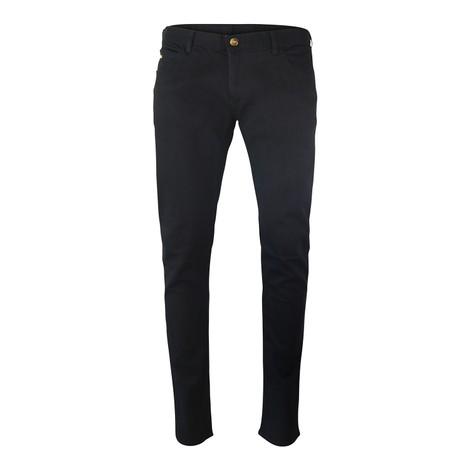 Emporio Armani Extra-Slim J10 Black Comfort Denim