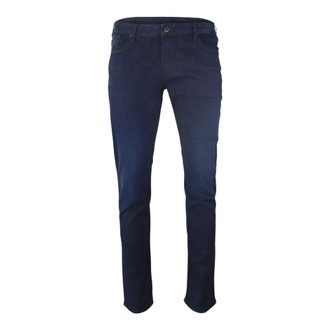 Emporio Armani Extra-Slim J10 Faded Comfort Denim