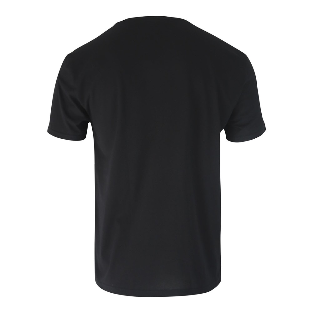 Emporio Armani Stretch T-Shirt - Mega Logo Black