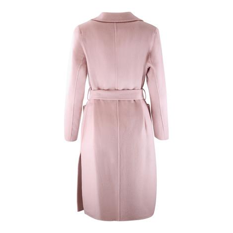 Michael Kors Pink Tie Belt Coat