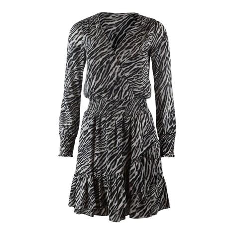 Michael Kors Safari Ruffle Dress