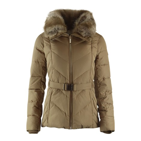 Michael Kors Fitted Heavydown Puffer Jacket