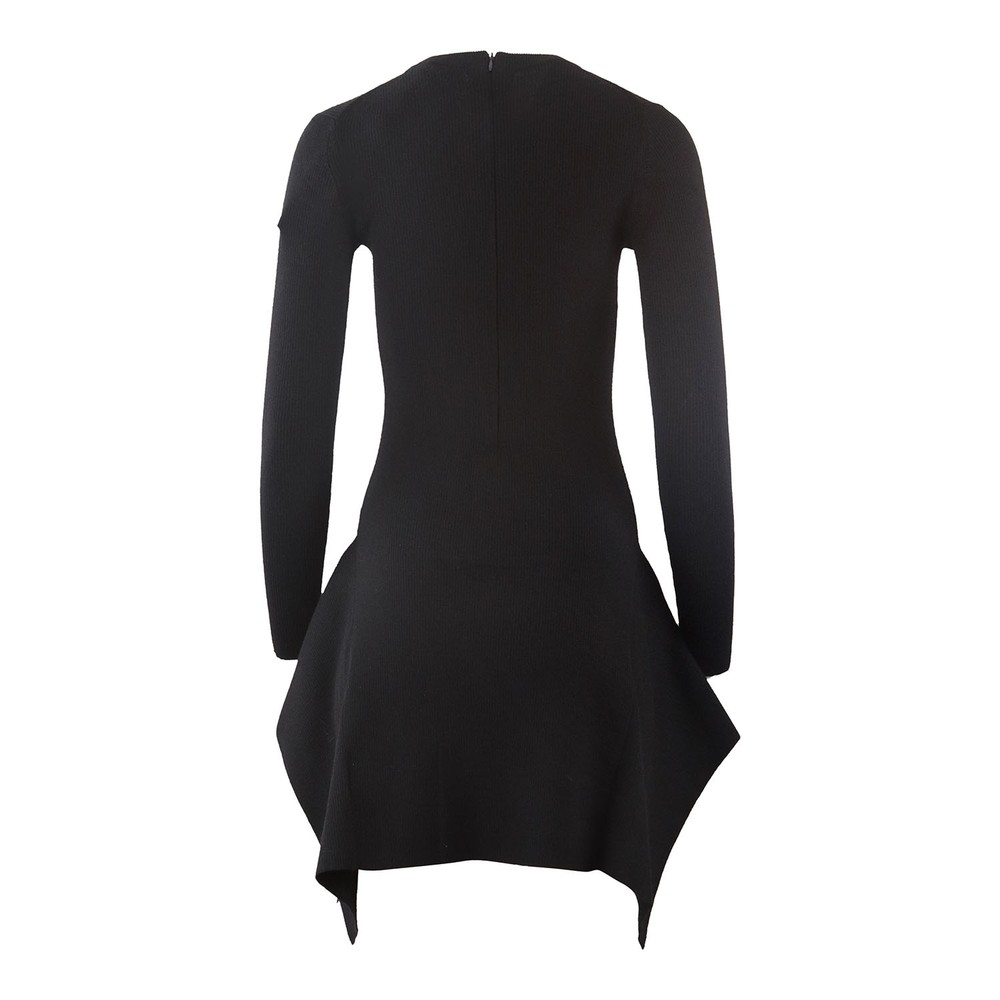 Michael Kors Handkerchief Hem Dress Black