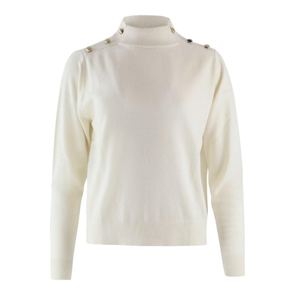 Michael Kors Dome Shoulder Sweater Cream