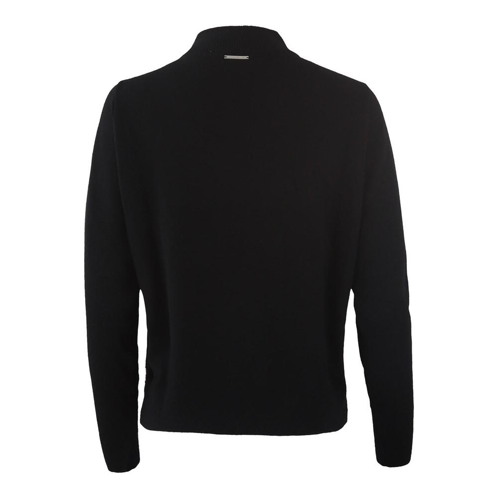 Michael Kors Dome Shoulder Sweater Black