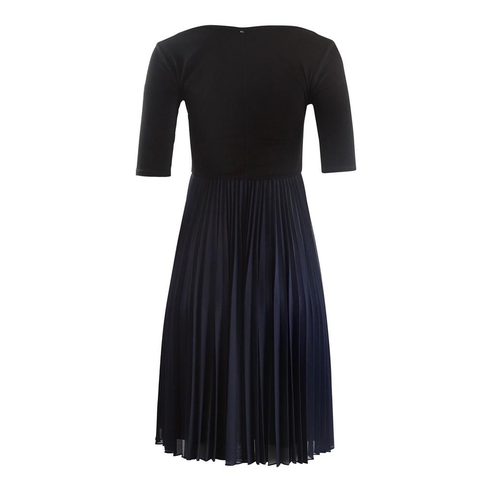 Sportmax Maremar Short Sleeve Dress Black