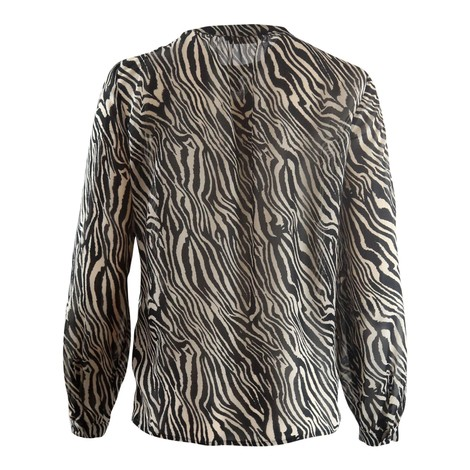 Set Zebra Print Blouse