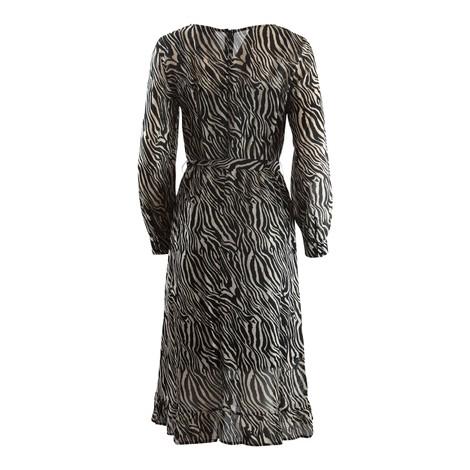 Set Zebra Print Dress