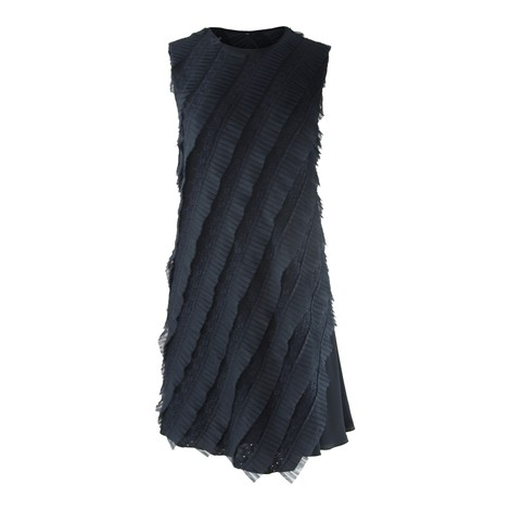 Sportmax Code Pinza Sleeveless Ruffle Dress