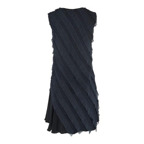 Sportmax Pinza Sleeveless Ruffle Dress