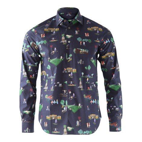 Paul Smith London Parks Print Shirt
