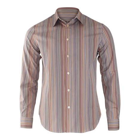 Paul Smith Artist Multi Stripe Shirt