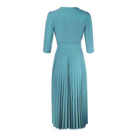 Marella Adesso 3/4 Sleeve Sparkle Midi Dress