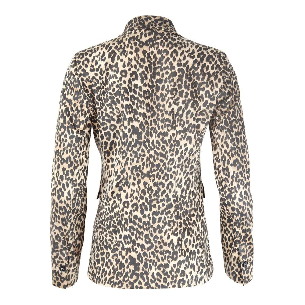 Marella Borgia Leopard Print Jacket Animal Print