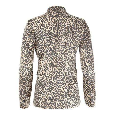 Marella Borgia Leopard Print Jacket