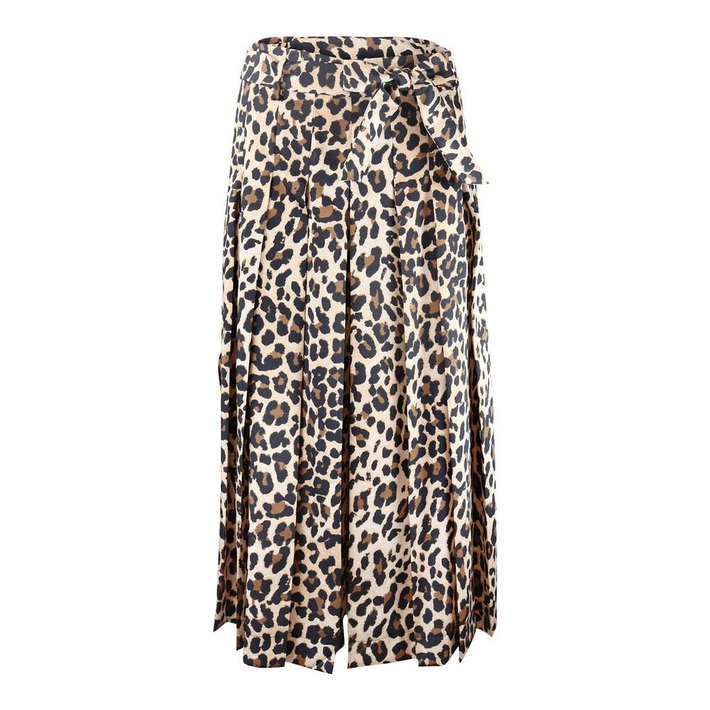 Marella Natale Leopard Print Culotte Animal Print