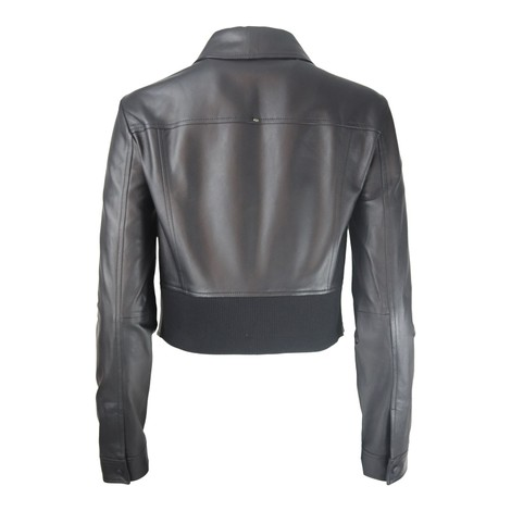 Sportmax Ghirba Leather Jacket