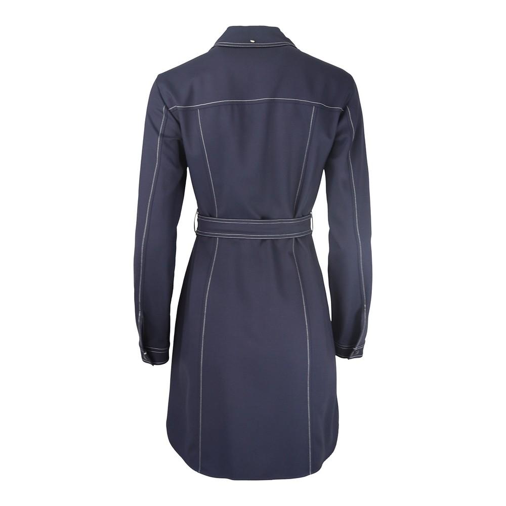Sportmax Shirt Dress Navy