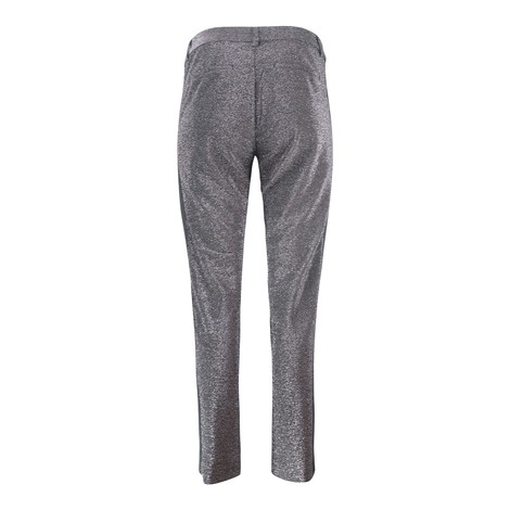 Scotch & Soda Lurex Pants-Velvet Trim