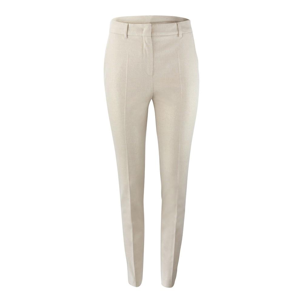 Maxmara Studio Sparkle Trousers Gold