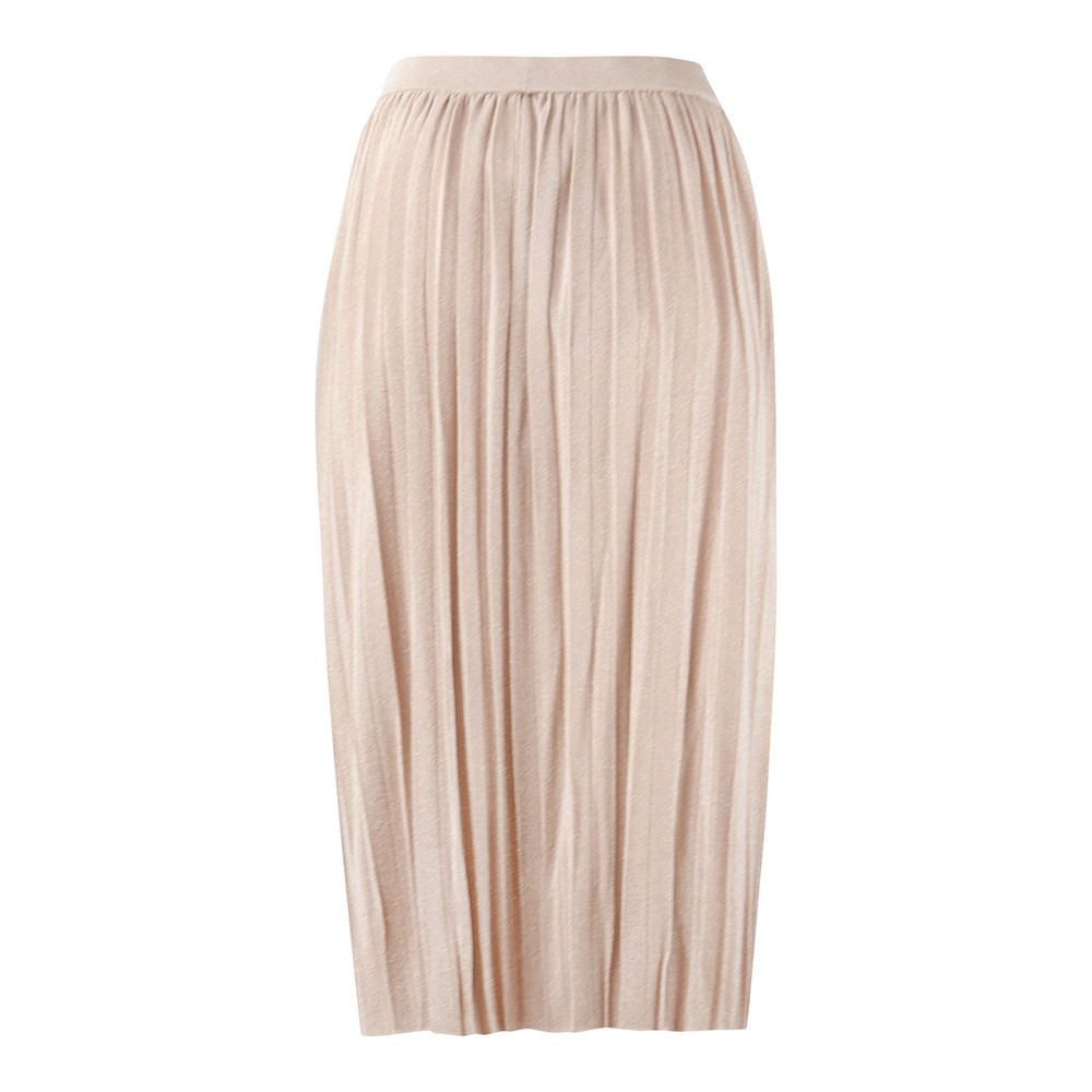 Maxmara Studio Fiacre Pleat Skirt Gold