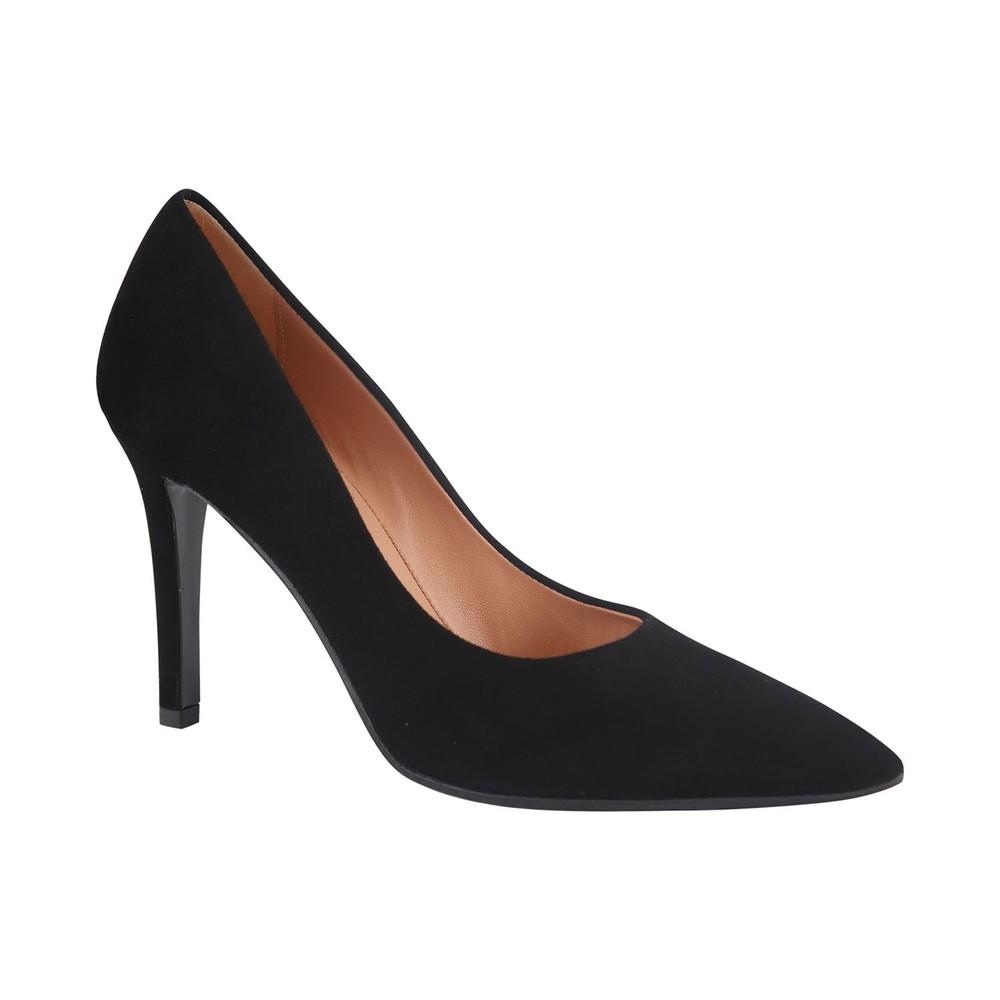 Aristocrat High Heel Suede Court Shoes Black