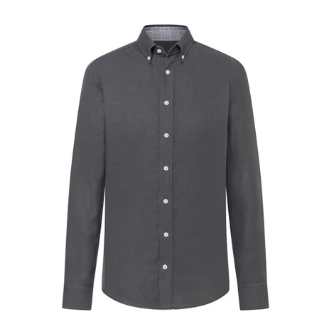 Hackett Double Faced POW Flannel Slim Fit Shirt