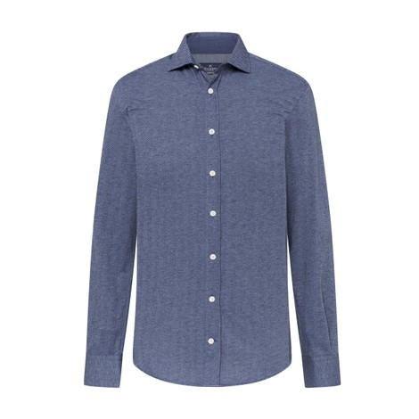 Hackett Herringbone Jersey Shirt