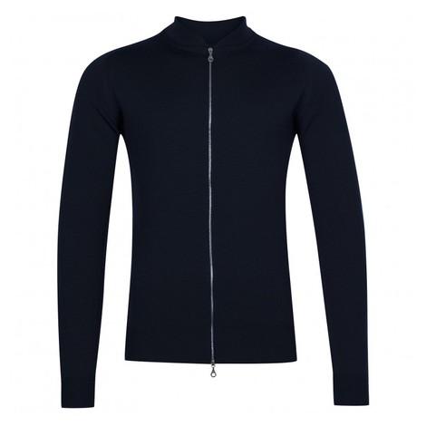 John Smedley Maclean Full Zip Jacket