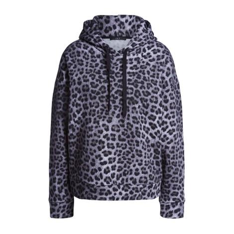 Set Leopard Print Hoodie