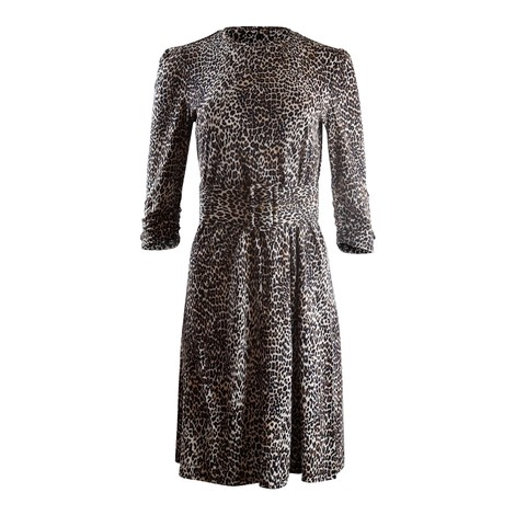 Marella Leopard Print Jersey Dress