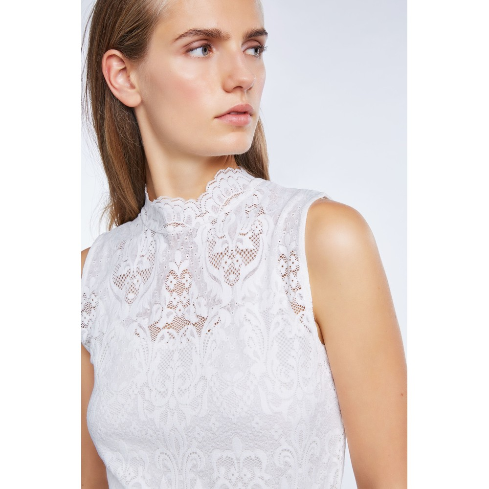 Set Lace Shirt White
