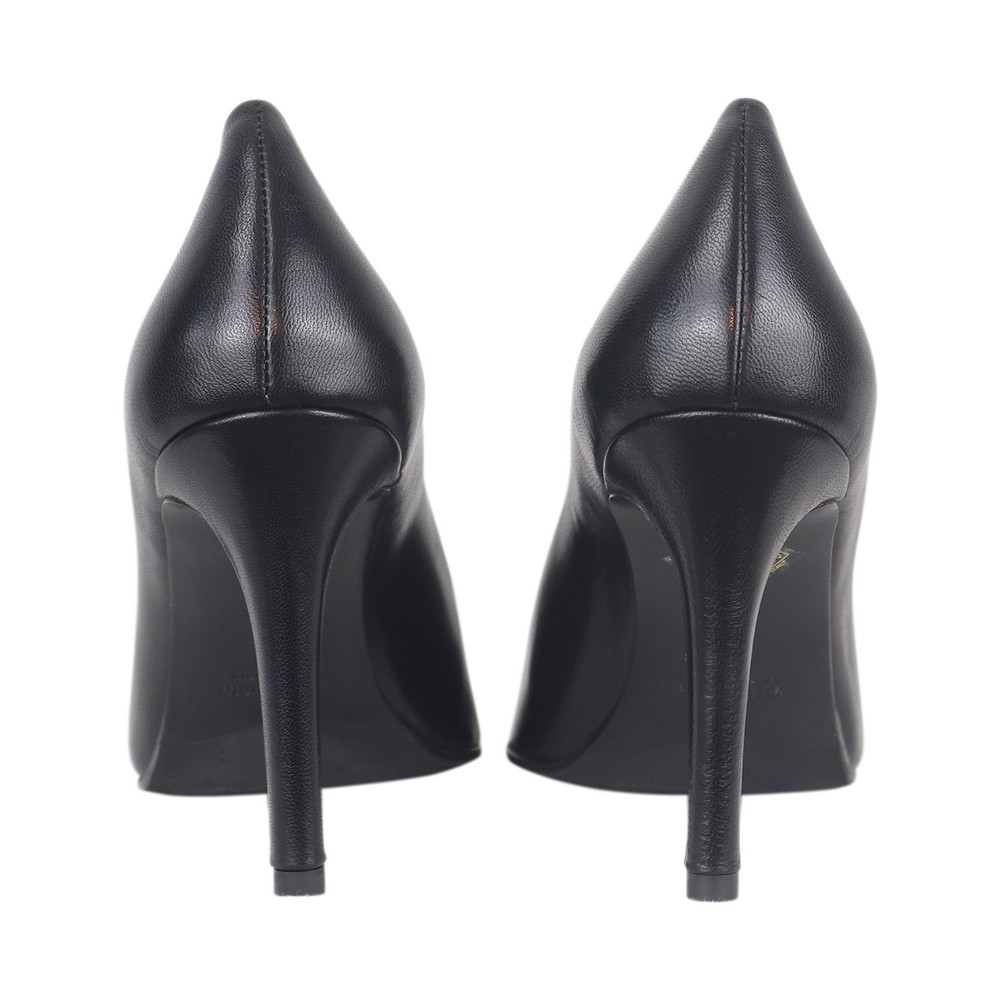 Aristocrat Nappa Nero High Heel Court Shoe Black