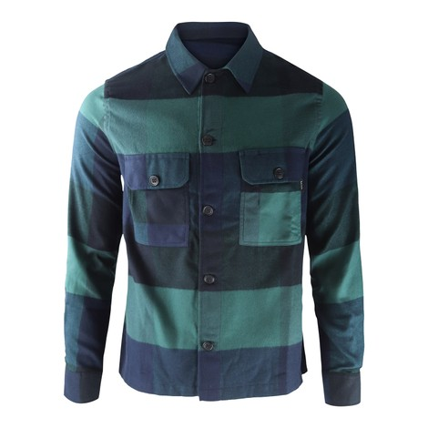 PS Paul Smith Patch-Pocket Overshirt
