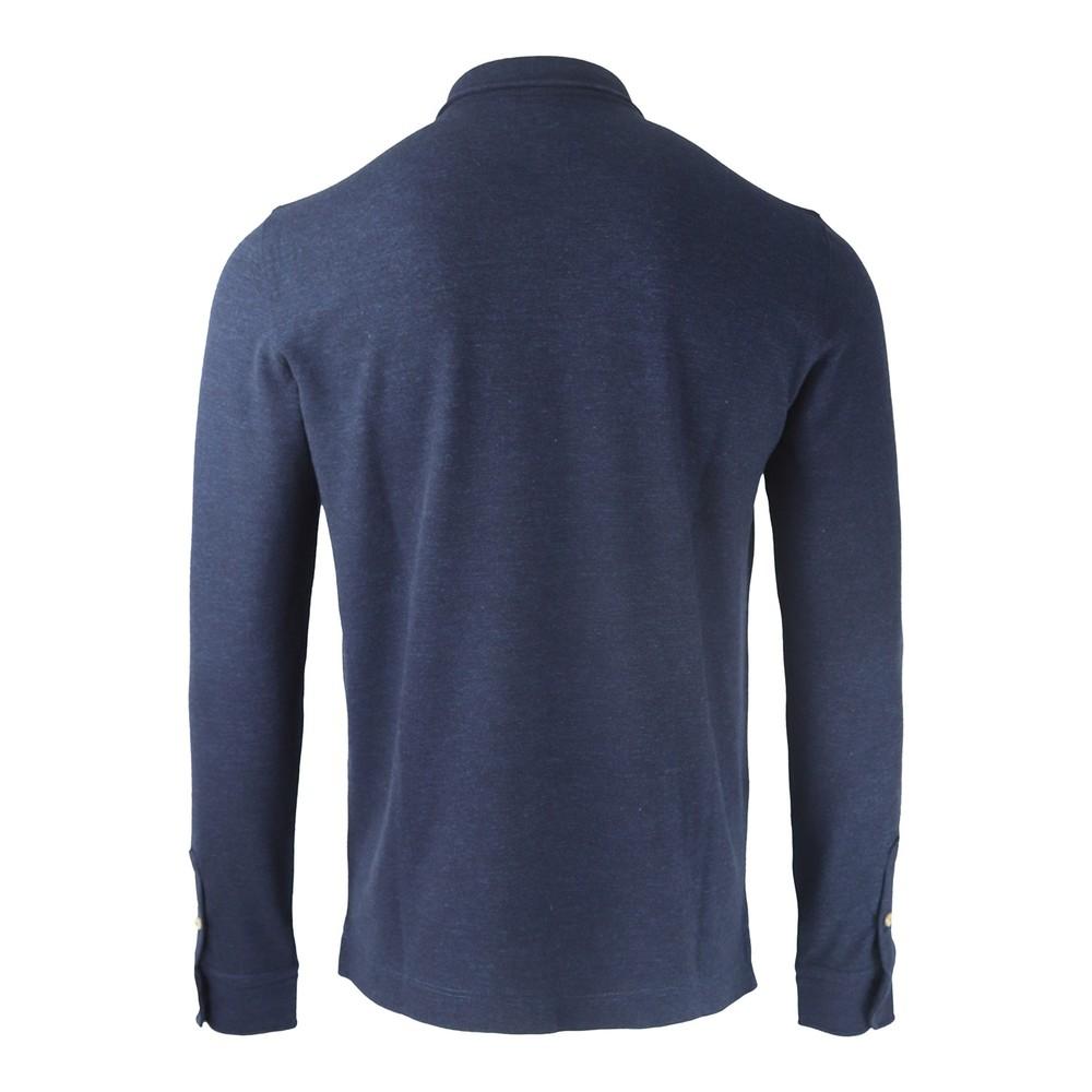 Circolo Polo Camicia Lana Navy