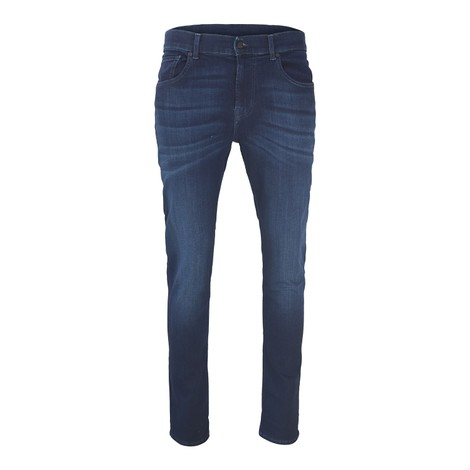 7 For All Mankind Slimmy Tapered - Luxe Performance Plus Deep Blue