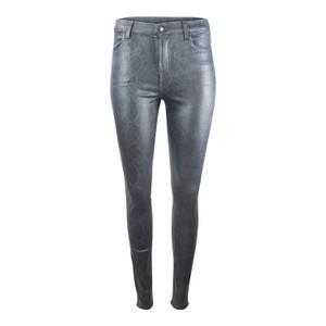 J Brand Maria High Rise Sleepwalker Coated Boa Skinny Jean