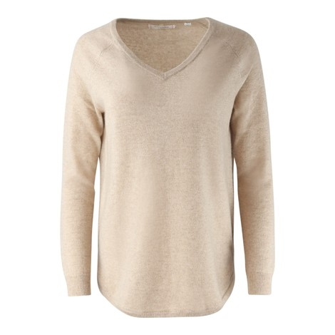 Chinti & Parker The V Neck Essential Cashmere Jumper