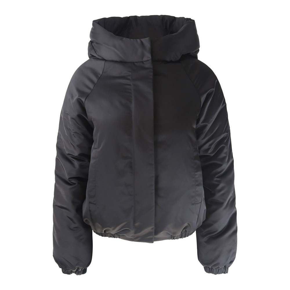 J Brand Bora Puffer Jacket Black