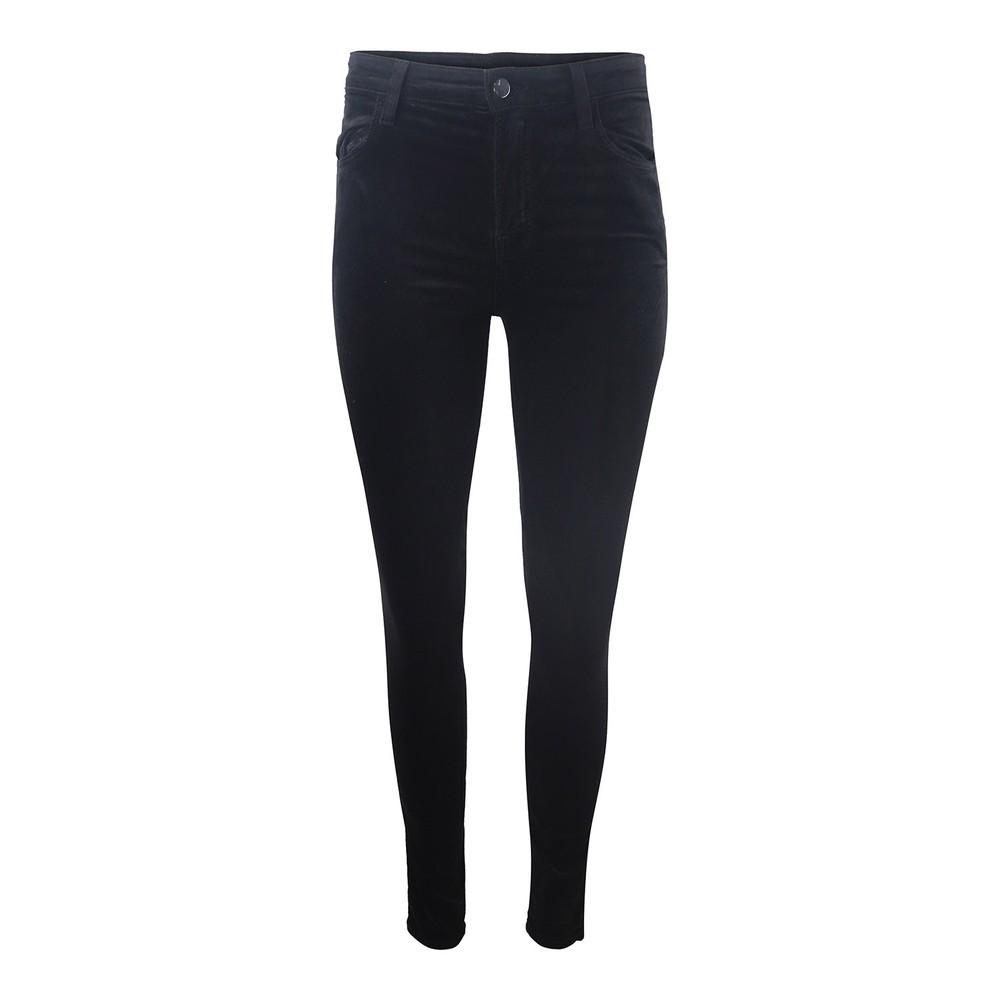 J Brand Maria High Rise Skinny Cosmopolitan Jeans Black