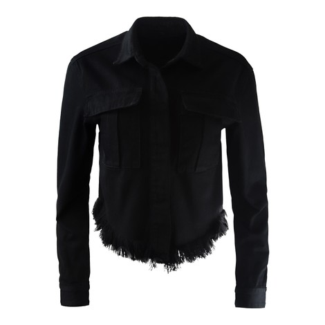 J Brand Shannan Fray Jacket