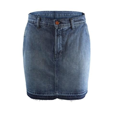 J Brand Mini A Line Skirt Highrise Ambition